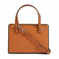 loewe small postal leather bag