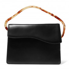 naturae sacra aiges resin and leather tote