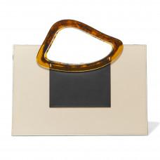 naturae sacra arp sailent leather and resin tote