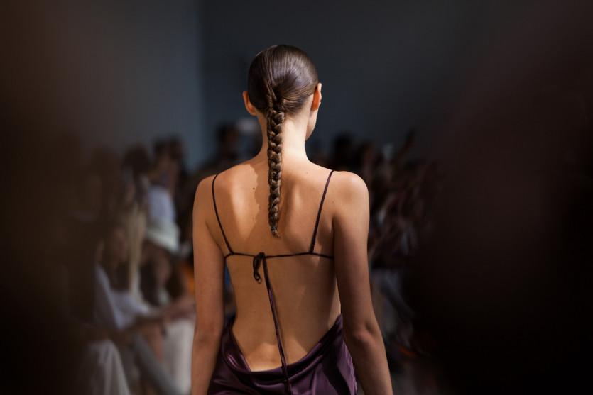 dominatrix inspired hair trending new york fashion week