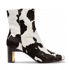 rosetta getty printed calf hair ankle boots