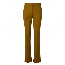 victoria beckham skinny pants with split hem