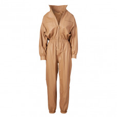 zimmermann espionage leather boiler suit