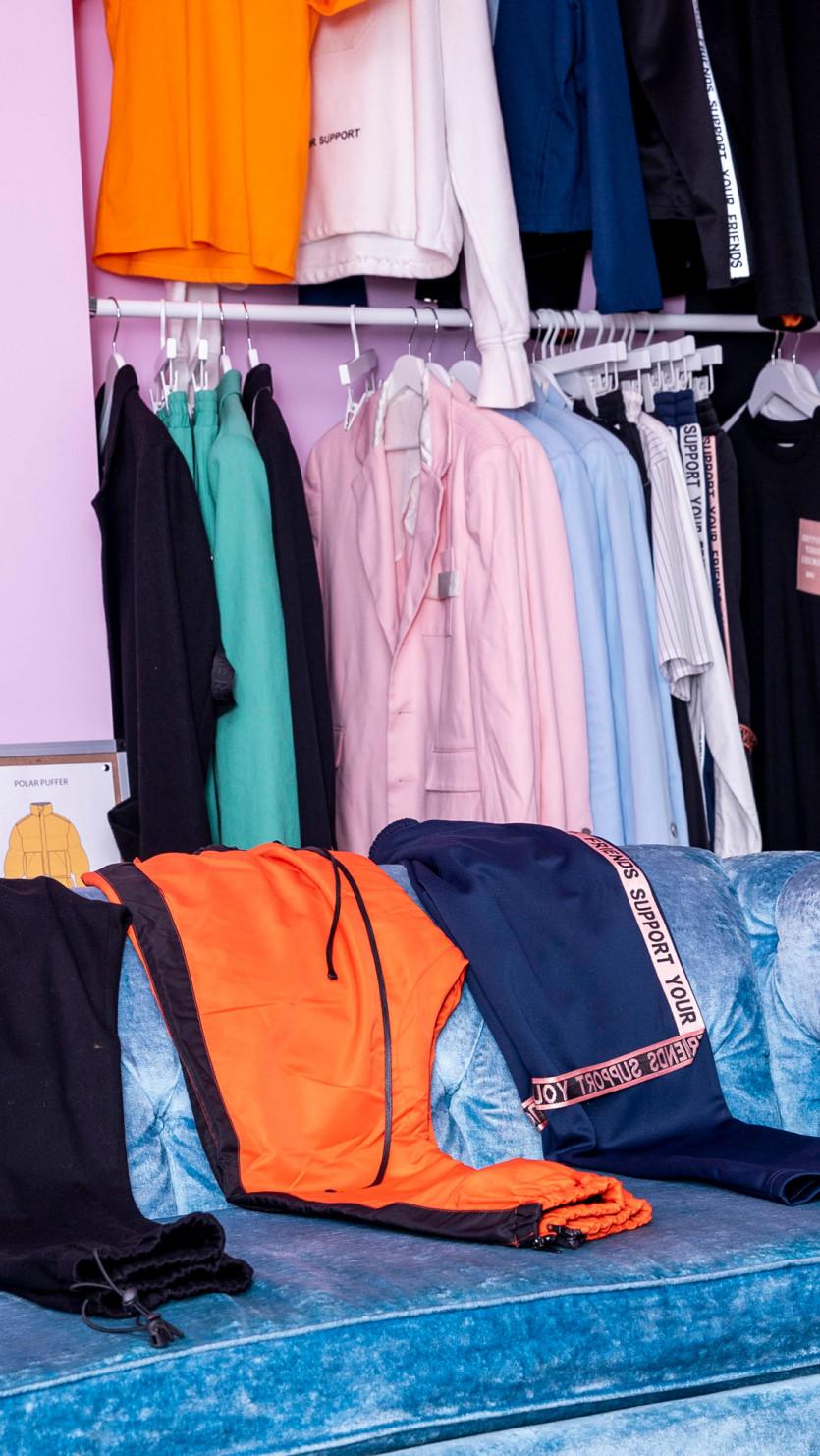 inside samuel krost closet