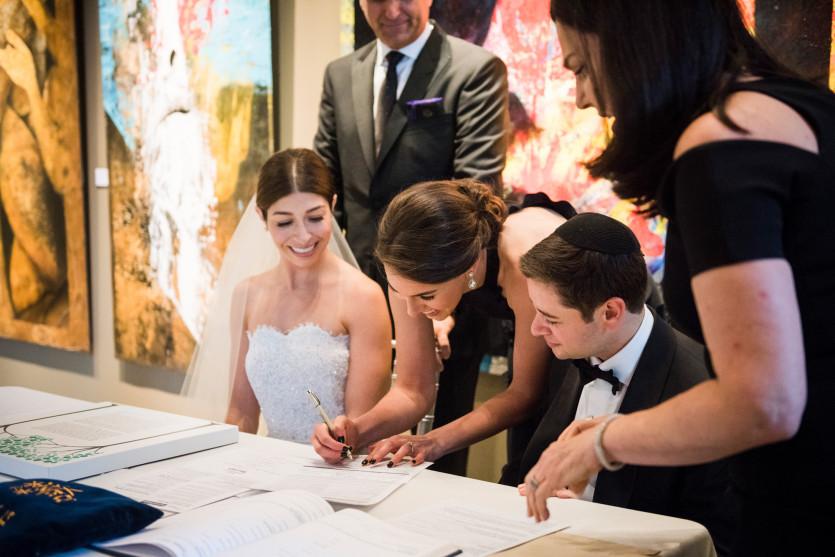 stephanie mark wedding