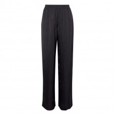 alexander wang satin jacquard straight leg pants
