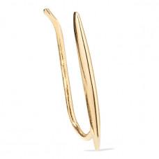 catbird net sustain big secret gold earring