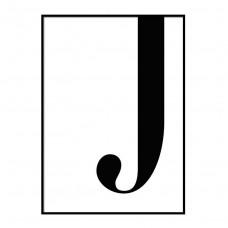 desenio letter j poster