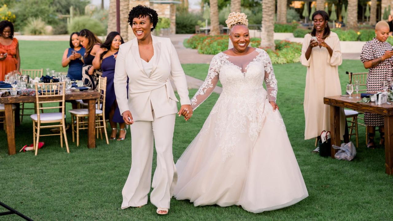 An Earth-Toned Wedding in the Arizona Desert