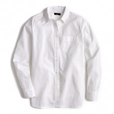 j.crew classic fit boy shirt in cotton poplin