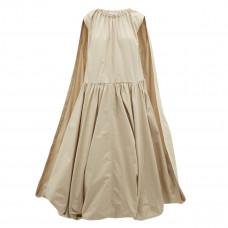 jw anderson cape paneled bubble hem cotton dress