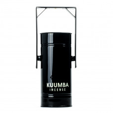 kuumba metal can incense burner