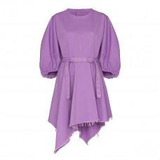 marques almeida voluminous sleeve belted dress