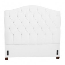 pottery barn eliza tufted headboard