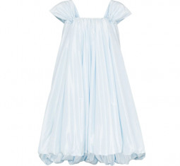 Bubble Hem Mini Dress by Simone Rocha