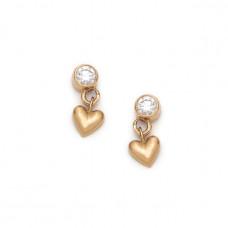 sofia zakia baby heart earring