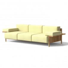studio david thulstrup 3 seater mooner sofa