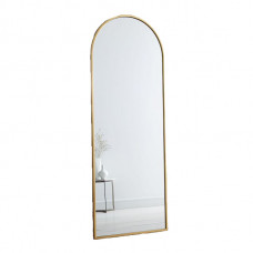 west elm metal framed arched floor mirror