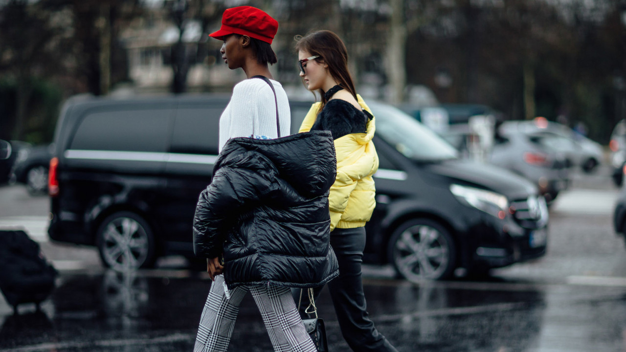 how to style puffer jackets