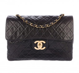 Vintage Maxi Single Flap Bag by CHANEL