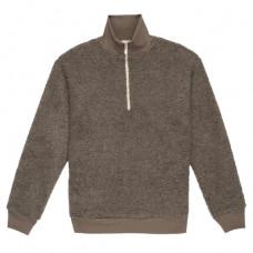 donni sherpa half zip pullover