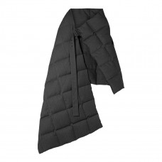 dries van noten gil oversized quilted pinstriped twill down wrap