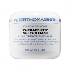 peter thomas rothe therapeutic sulfur masck acne treatment mask