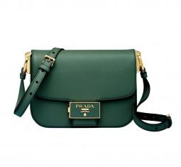 Emblème Saffiano Leather Bag by Prada