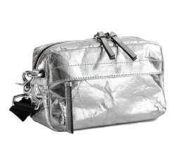 Metallic Textured Crossbody Bag by & Other Stories