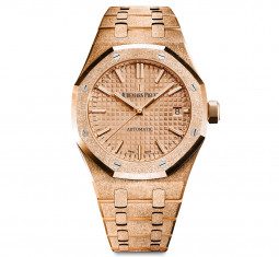 Royal Oak Frosted Gold by Audemars Piguet