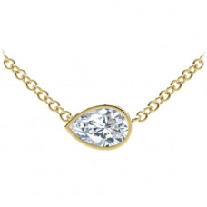 forevermark tribute collection pear diamond necklace