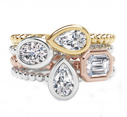 Tribute Stackable Ring by Forevermark