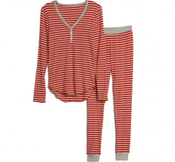 Stripe Ribbed Pajama Set by Gap