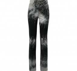 Tie-Dye High-Rise Slim-Leg Jeans by Matthew Adams Dolan