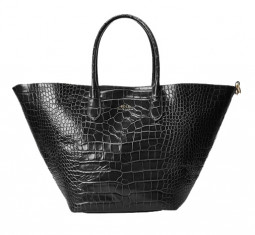 Embossed Large Bellport Tote by Polo Ralph Lauren