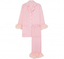 Arlekino Ruffled Chiffon-trimmed Pajama Set by Sleeper