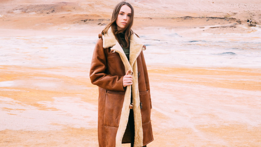 The Brand Behind the Shearling Coats of Our Dreams