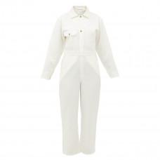 apiece apart totumo linen blend jumpsuit