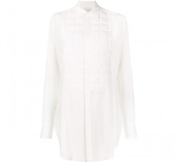 Quilted Front Shirt by Bottega Veneta