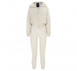 Convertible Paneled Ski Suit by Cordova