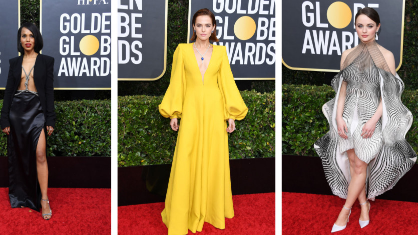 Our Favorite 2020 Golden Globes Red Carpet Looks