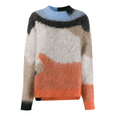 ambush intarsia knit jumper