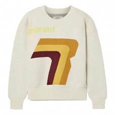 isabel marant etoile klero intarsia cotton blend sweater