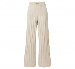 Paddington Ribbed Cashmere Track Pants by Loro Piana