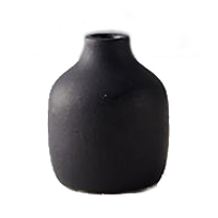 anthropologie matte terracotta bud vase