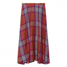 arias plaid circle skirt