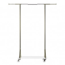 cb2 invisible packing rack