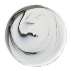 cb2 swirl dinner plate