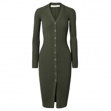 dion lee pinnacle ribbed knit dress