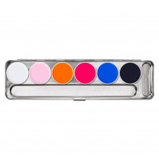 kryolan aquacolor uv dayglow palette